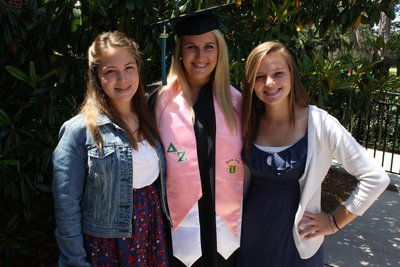 graduation with the girls