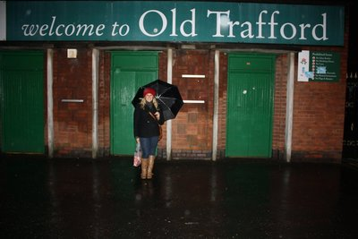 Welcome to Old Trafford