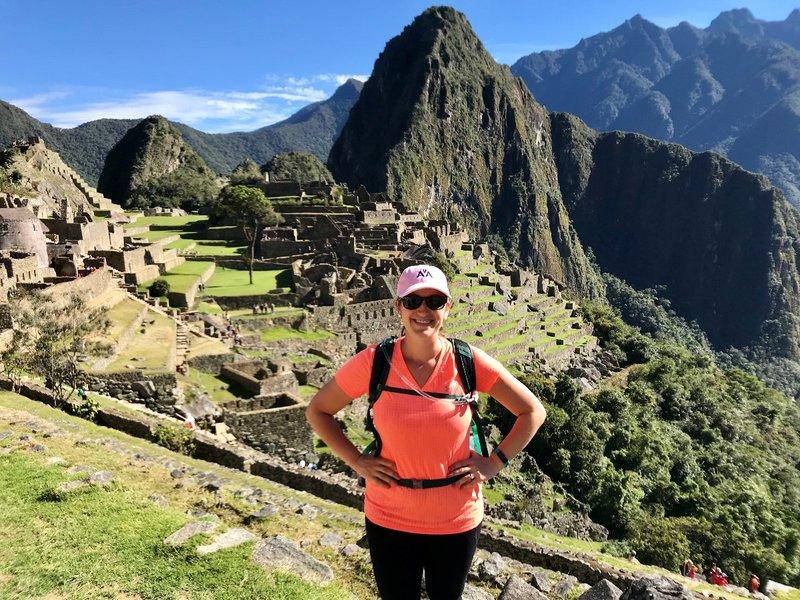 End of the Inca Trail Hike to Machu Picchu