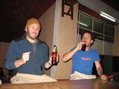INC_D3 - Jason and Carlos drinking beer