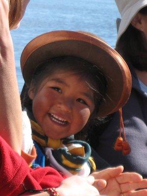 TIT - Uros girl smiling