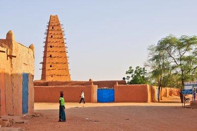 Agadez main square