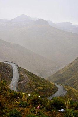 Lesotho Highlands Roller Coaster Roads