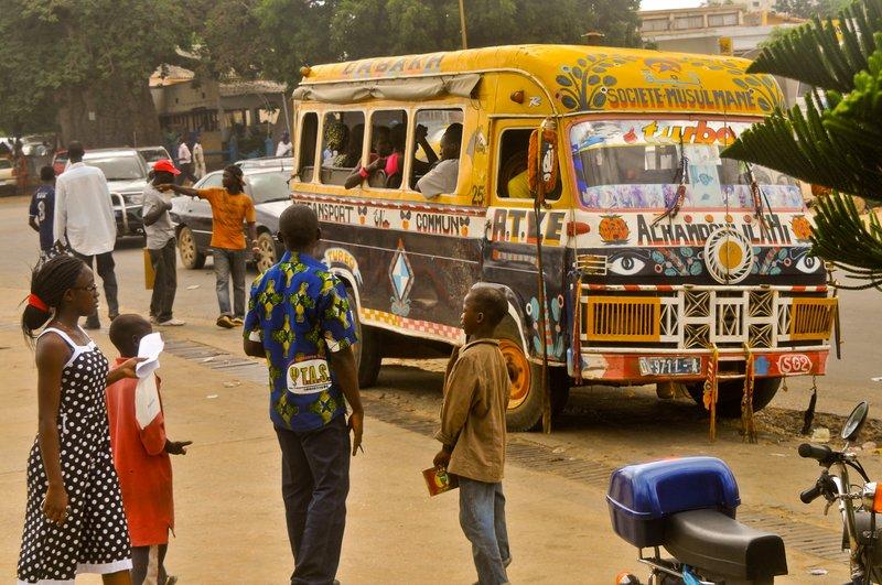 Dakar cityscape