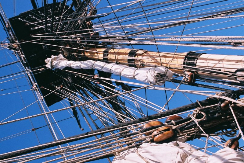 Rigging of the Endeavour