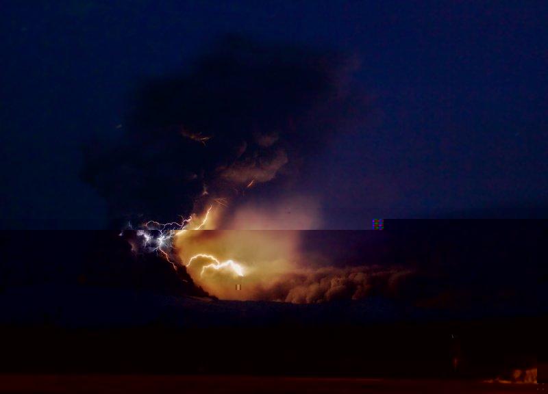 Eyjafjallajokull Lightning