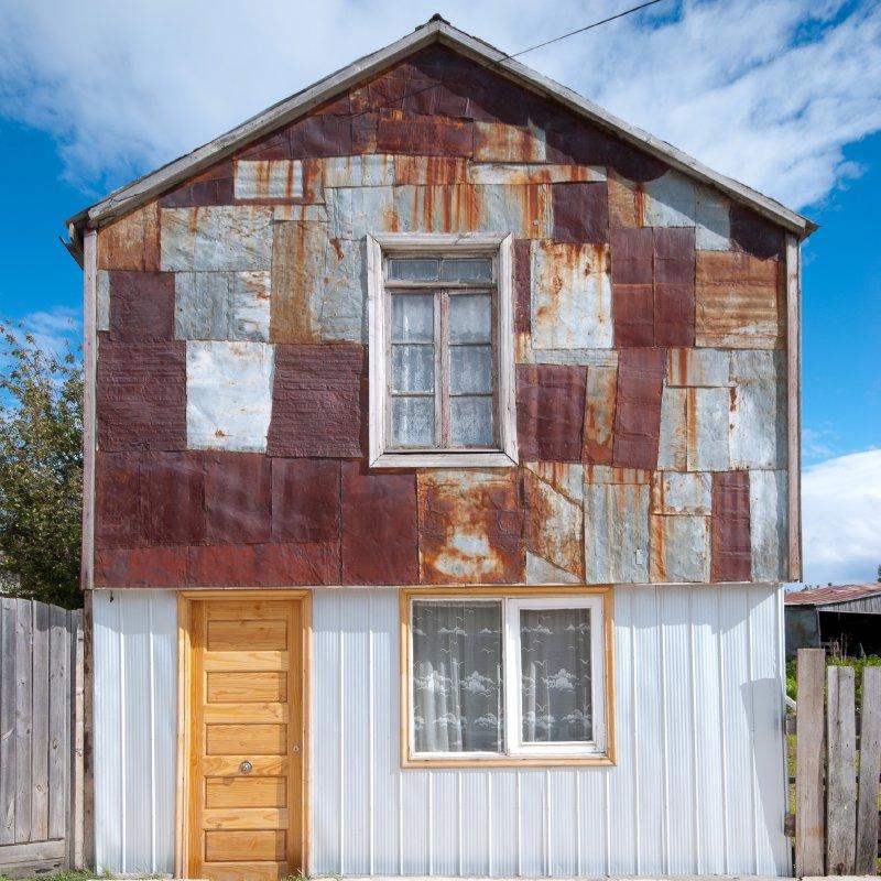 Building in Puerto Natales