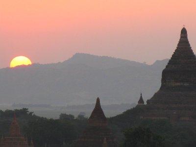 Sunset at Bagan, Myanmar (Burma)