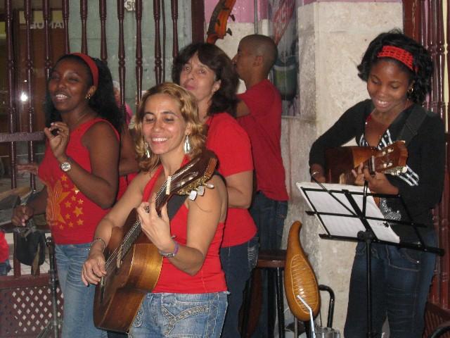 music in a bodega