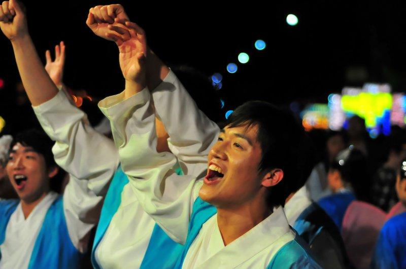 Celebration at the Lotus Lantern Festival
