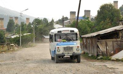 bus, Mestia