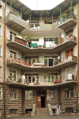 Tbilis block of flats