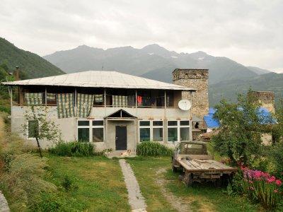Typical Mestia House