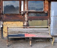 Old bench, Sisian