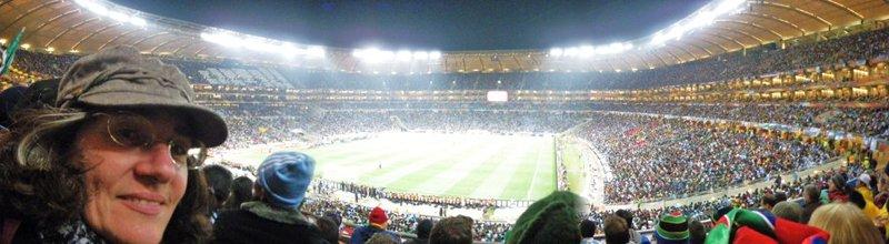 Jan at Soccer City