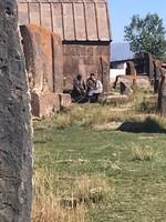Local elders chatting