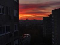 Sunrise in Belgrade