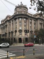 Building on Kneza Miloša Street