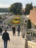 Outside Belgrade fortress walls