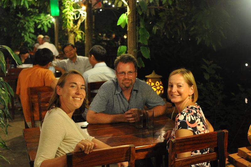 Kat, Dave & Niamh