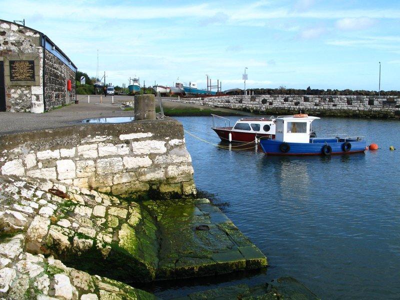 Harbor in Northern Ireland