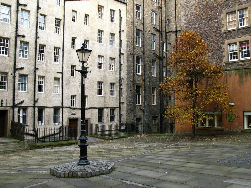 Courtyard in Edinburgh