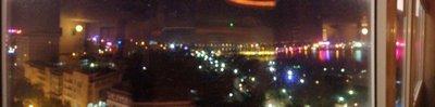 Panorama from Gerbera Hotel Skybar, Hue