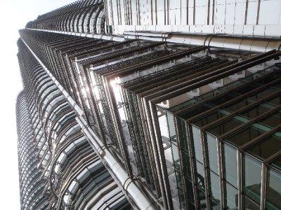 Petronas Tower from below