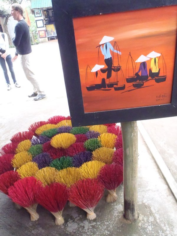 Handmade incense sticks for sale in old Hue