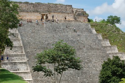 This is the temple everyone was climbing.
