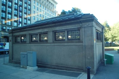 Old depot still in use for subways