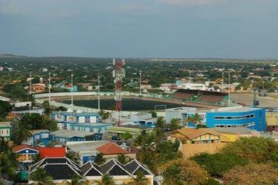 Soccer field in Bonaire