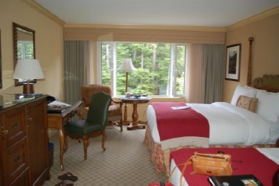 Our room at the Farimont Whistler