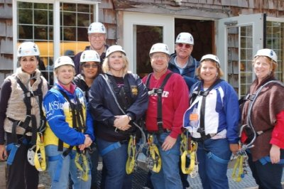 The Ziptrek group!!