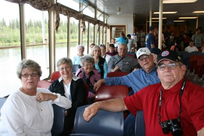 Some of the gang on the Riverboat.