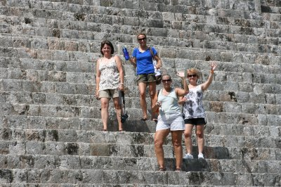 Dana, Sheryl, Karyn and Lorrie.