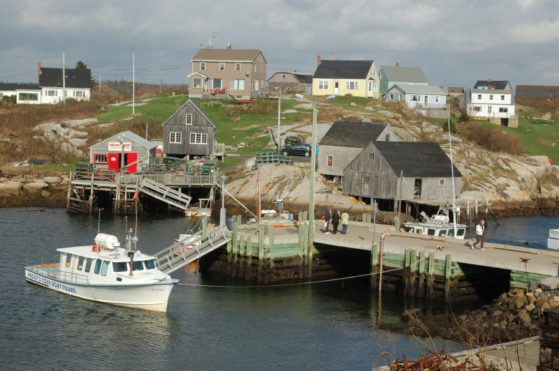 Peggy's Cove--this was such a cool place