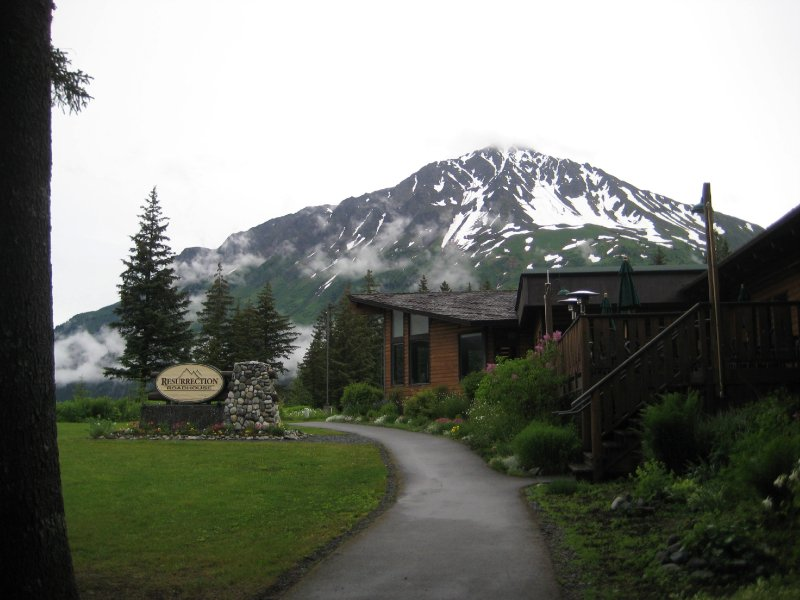 Restaurant at Lodge in Seward.