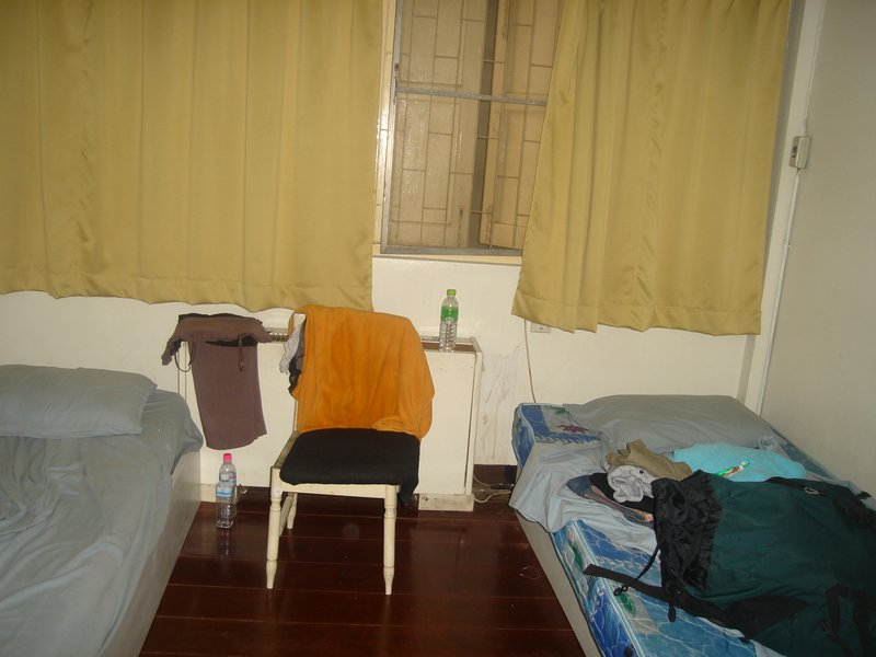 Our Cosy Hostel in Bangkok!