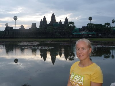 Cletus at Angkor Wat