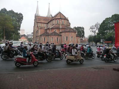 There are 5 million motorbikes in Ho Chi Minh!