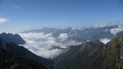 Stunning mountain scenery, Fansipan, Sapa