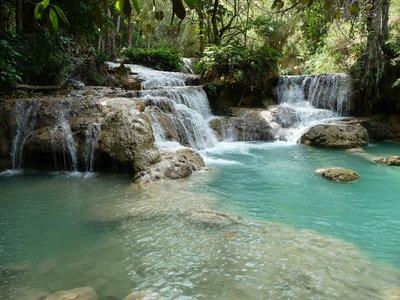 Kung si waterfalls