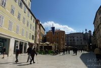 Plaza Mayor de Split, Croacia