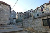 Barrio de pescadores de Split, Croacia