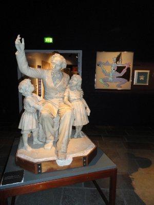 H C Andersen's statue