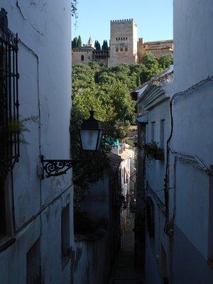 Streets of Albaicin
