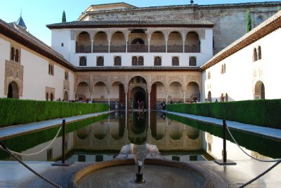 The Arrayanes Courtyard