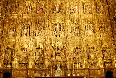 Seville Cathedral altarpiece