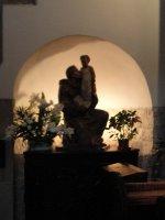 Statue, St Adalbert's Church